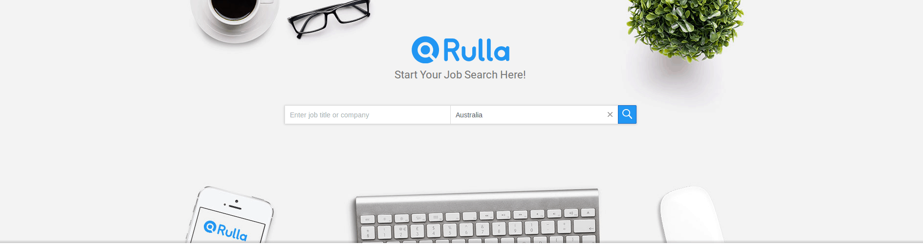 Rulla Job Search Site