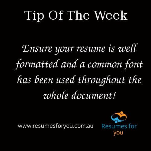 Resumes For You - Professional Resume Services - Resume Format
