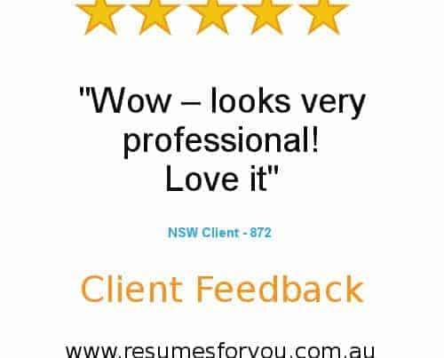 ResumesForYou - Client Testimonials